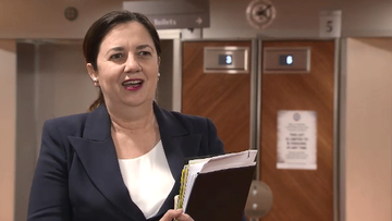"Queensland Premier Annastacia Palaszczuk has this evening talked about ""a good meeting"" among National Cabinet today, painting a ""positive"" conversation between states."