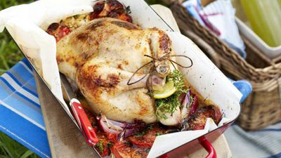"<a href=""http://kitchen.nine.com.au/2016/05/16/14/48/tomato-and-thyme-roast-chicken"" target=""_top"">Tomato and thyme roast chicken</a>"