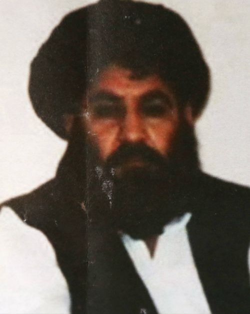 Mullah Akhtar Mansour was killed just nine months into his reign as leader. (Supplied)