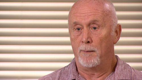 Nigel Jeffares, 71, lost $370,000 in Sherwin's fraud.