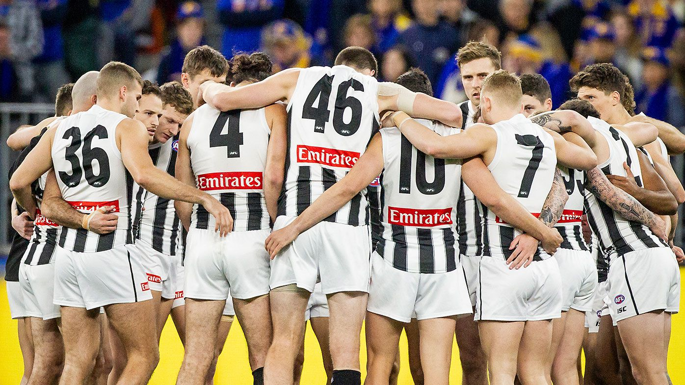 Collingwood shrug off Darcy Moore injury to pull off famous comeback win over West Coast Eagles