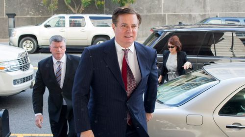 A federal grand jury indicted Manafort and a long-time associate, Konstantin Kilimnik, last week on charges of obstruction of justice and conspiracy to obstruct justice. Picture: AP