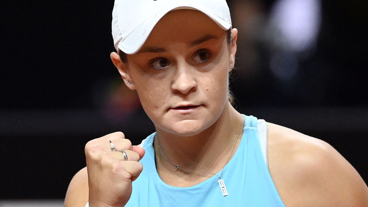 Ashleigh Barty sets up clash of former French Open champions with Madrid Open win