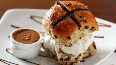 "<a href=""http://kitchen.nine.com.au/2017/04/04/10/13/max-brenner-not-cross-bun"" target=""_top"">Max Brenner's Chocolate Not Cross Bun</a><br /> <br /> <a href=""http://kitchen.nine.com.au/2016/06/06/21/39/best-hot-cross-bun-recipes"" target=""_top"">More hot cross buns</a>"