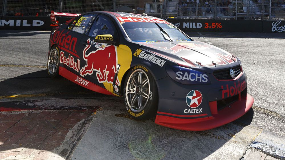 Shane van Gisbergen enjoyed a strong win in Adelaide. (AAP)