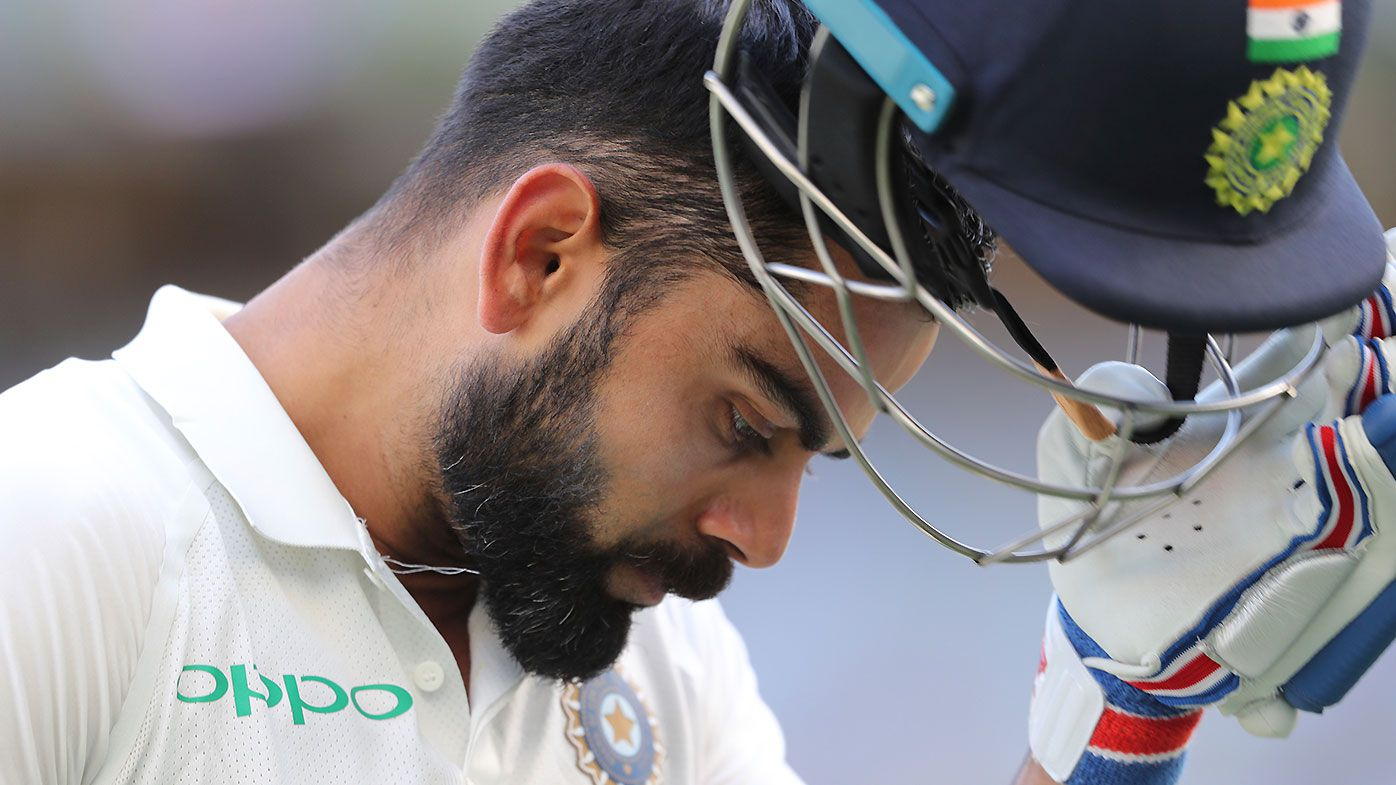 Virat Kohli receives an unlikely ally in former Australian captain Allan Border
