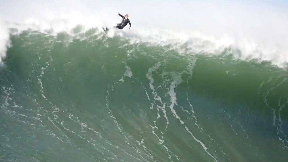 US surfer Wilem Banks takes out Wipeout of the Year at Big Wave Awards