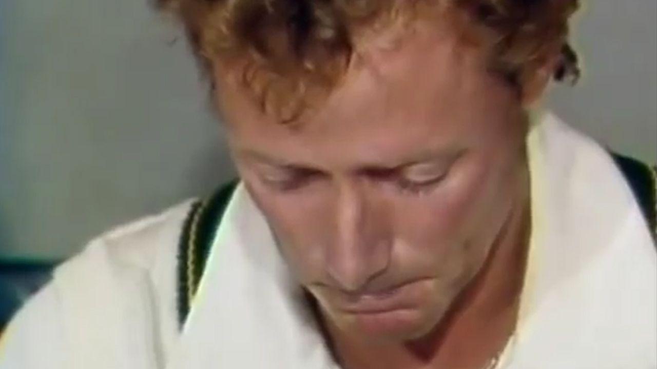 Hughes' tearful exit