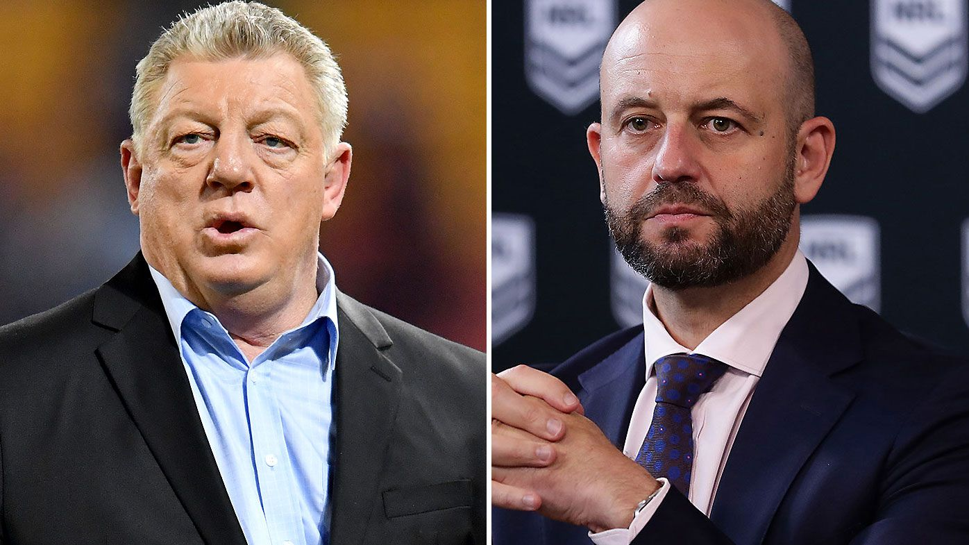 Phil Gould says COVID-19 crisis exposed frayed relationships after Todd Greenberg's resignation