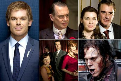 <I>Dexter</I><br/><I>Boardwalk Empire</I><br/><I>The Good Wife</I><br/><I>Mad Men</I><br/><I>The Walking Dead</I><br/><br/><b>TVFIX prediction:</b> <i>Mad Men</i>'s latest season has been exemplary, though the 1960s-set drama has already won a billion Golden Globes. So the award could go to the more popular <i>The Good Wife</i>.