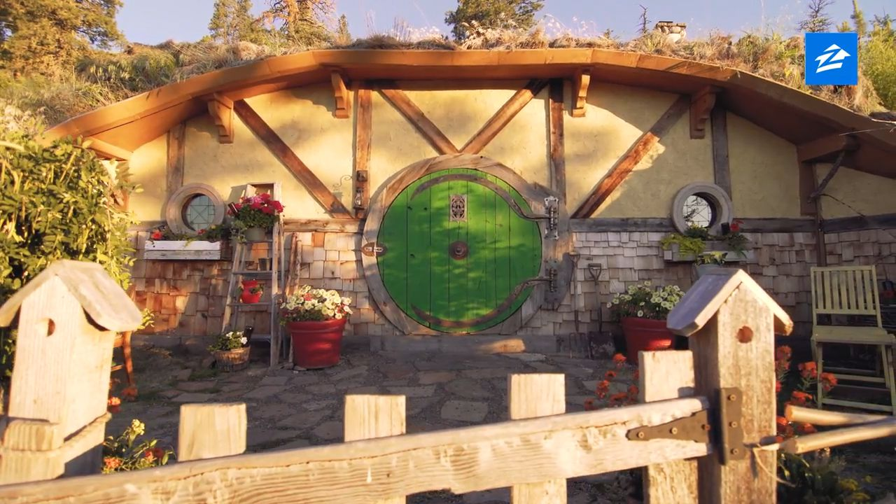 Now you can holiday in this seriously realistic Hobbit house