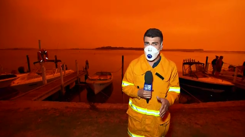 Sam Cucchiara reports from the Victorian coastal town of Mallacoota.
