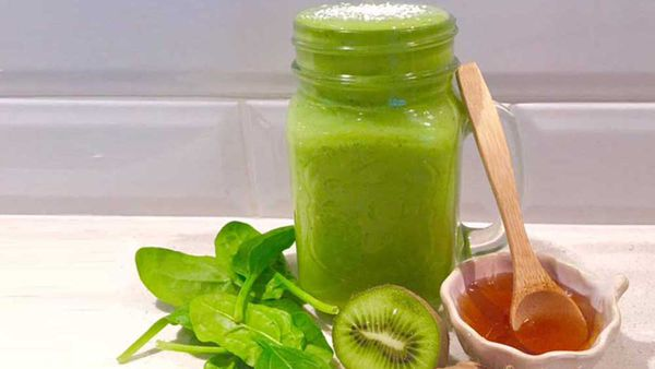 Frequent flyer green smoothie