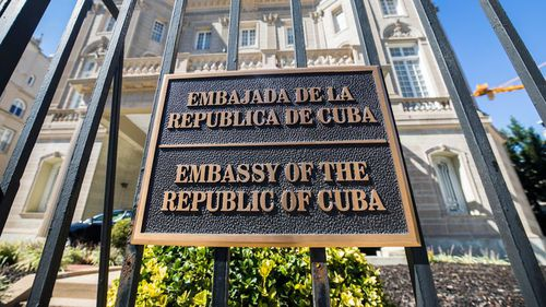 US diplomats reported hearing an unusual sound before falling ill in Cuba. (AAP)
