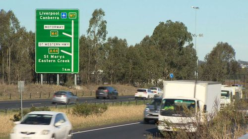 Federal Labor MP Ed Husic, wants to see the median strip on the 40km orbital linking the M5 and M2, transformed into a bus lane.