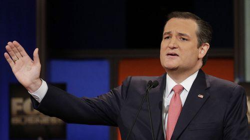 Senator Ted Cruz. (AAP)