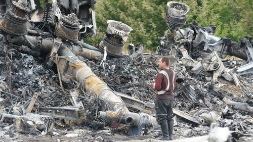 Australian team on the ground in Ukraine to help identify victims of MH17