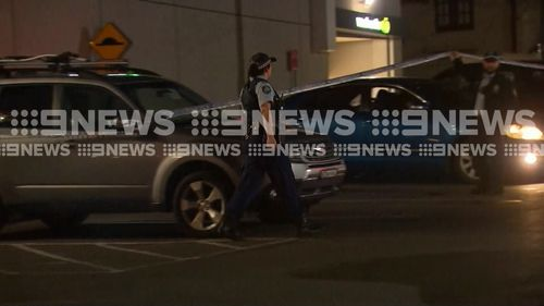 The attack occurred shortly before 7pm tonight. Picture: 9NEWS