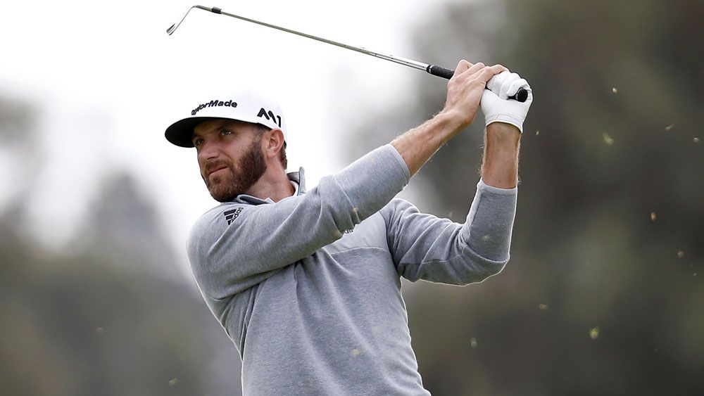 Dustin Johnson is the new world No.1. (AAP)