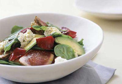 Tuna and salad