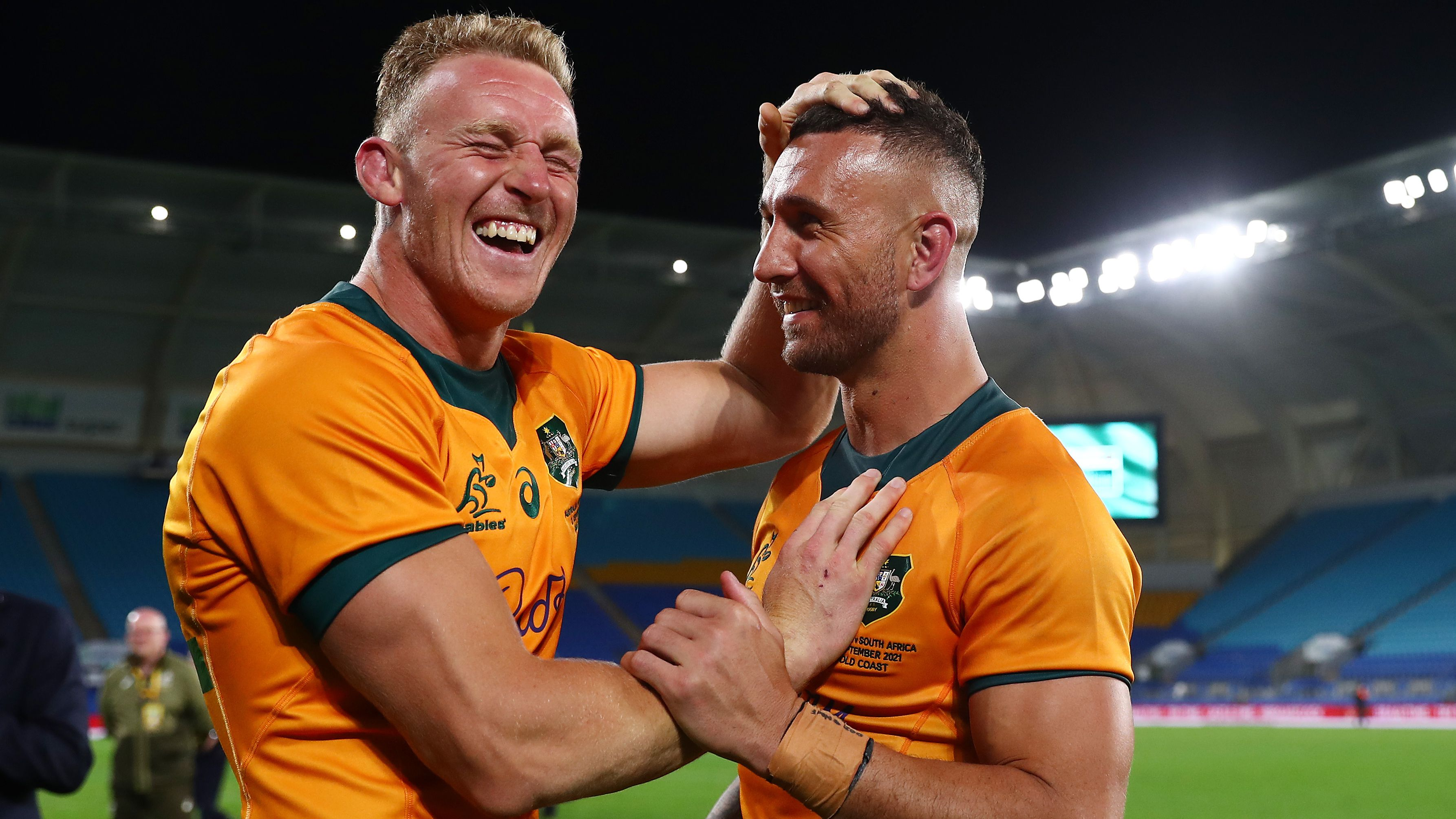 'Mr Fix It' wins hotly contested Wallabies jersey
