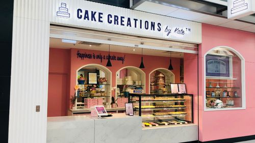 The inaugural 'Cake Creations by Kate' in Point Cook, in Melbourne's south-west.