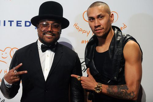 Black Eyed Peas members Taboo and apl.de.ap will jump behind the decks for a DJ set. (PA/AAP)
