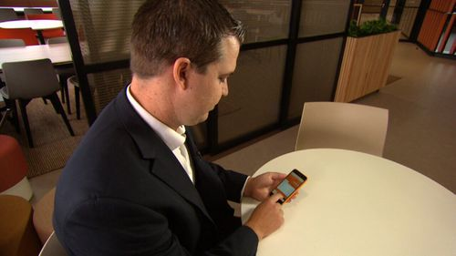 New Payments Platform CEO Adrian Lovney says the app will transform the digital payment space. (9NEWS)