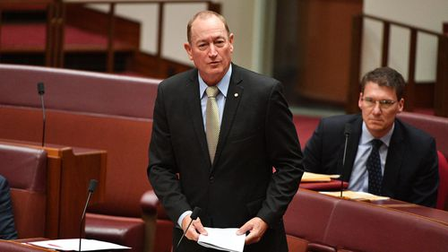 Fraser Anning has been dumped by KAP over his 'racist' language.
