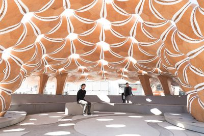 <strong>ICD-ITKE Research Pavilion 2015-16 by ICD-ITKE University of Stuttgart</strong>
