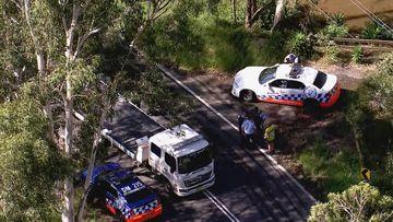 Police found the man's body inside a car in Cattai Creek.