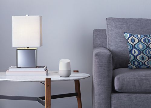 The Google Home also features a 360-degree speaker and is now able to be paired with multiple smart home devices and streaming services (AAP).