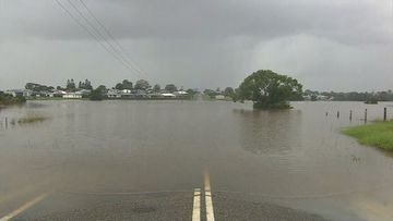 Residents in Kempsey were woken at midnight and ordered to evacuate. NSW floods