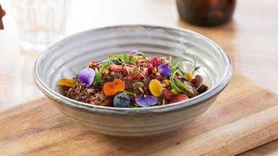 """<a href=""""http://kitchen.nine.com.au/2017/03/22/17/00/leroys-newport-cacao-porridge"""" target=""""_top"""">Leroy's Newport cacao porridge</a><br /> <br /> <a href=""""http://kitchen.nine.com.au/2016/09/25/22/30/sneaky-ways-to-have-chocolate-for-breakfast"""" target=""""_top"""">More sneaky chocolate-spiked breakfasts</a>"""