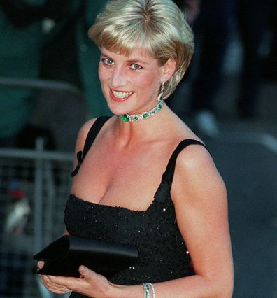 Princess Diana at a Tate gala, July 1997.