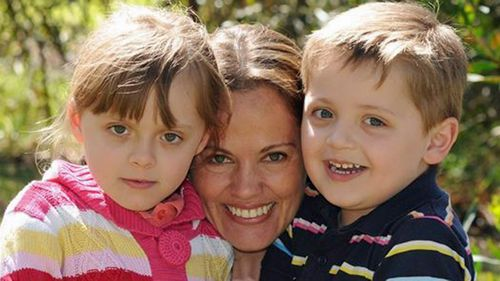 A supplied image obtained Monday, Oct. 17, 2016 of Maria Lutz with children Elisa (left) and Martin (right), all found dead along with her husband Fernando Manrique in Davidson in Sydney's north.