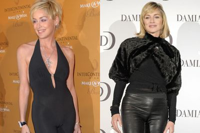 When your pants just don't fit, there's no escaping the dreaded camel toe from bearing your lady garden to the world. Mariah Carey, Madonna and Khloe Kardashian we're looking at you!<br/><br/>But the worst red carpet offender award goes to Sharon Stone for her repeated attempts to reclaim her Catwoman status in tight black pants. <br/><br/>(Pictured: Sharon Stone)