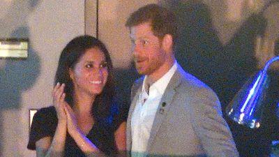 Prince Harry and Meghan Markle, September 2017
