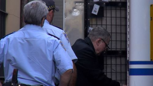 Terry John Gordon Hickson, aged 30 at the time and now 60, has pleaded not guilty in the NSW Supreme Court to murdering Charles Skarratt, 72.