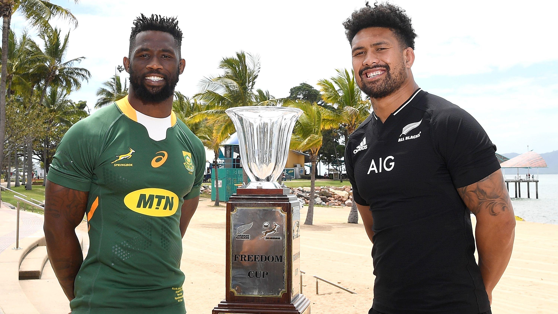 LIVE: All Blacks, Springboks square off in 100th