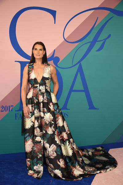 Brooke Shields in Sachin & Babi at the 2017 CFDA Awards.