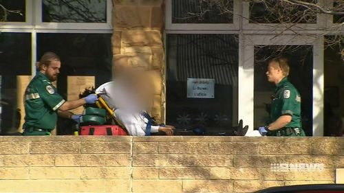 Police allege the young student approached a Year 12 student she didn't know and stabbed her in the back in the school toilet blocks. Picture: 9NEWS