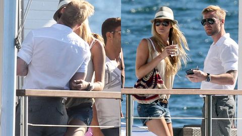 First pics: Ronan Keating makes out with new Aussie girlfriend in public