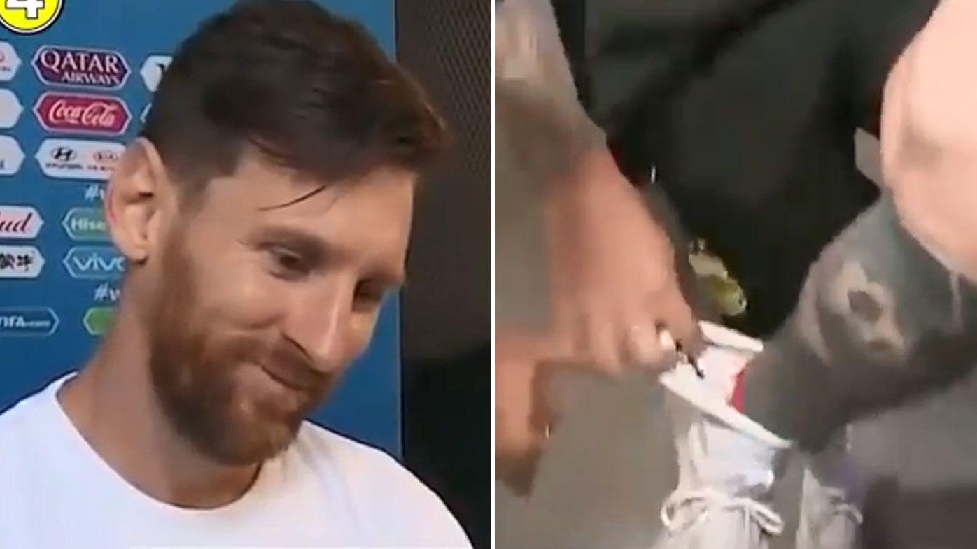 Lionel Messi reveals his secret to ending World Cup goal-scoring drought