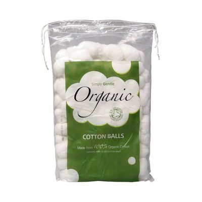 """<a href=""""https://www.sproutmarket.com.au/cotton-balls-100-2.html"""" target=""""_blank"""">Simply Gentle Organic Cotton Balls, $6.95.</a>Why? Remove your makeup with Micellar water then shove these babies in your ears to drown out 'MAMA!!!'"""