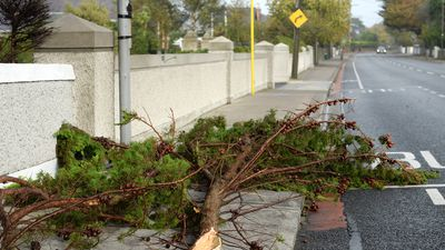 130km/h winds slam Ireland in Hurricane Ophelia aftermath