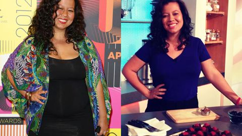 'It wasn't fair to her': Mahalia Barnes lost 19kg for her daughter's sake