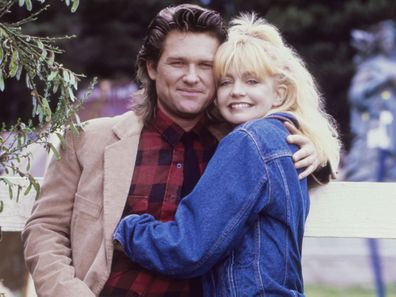 Kurt Russell and Goldie Hawn, 1987.