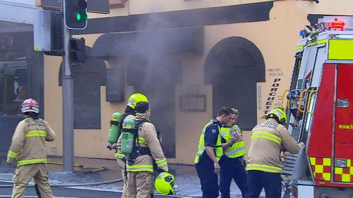 Essenzia Italian on the corner of Devonshire and Crown Streets in Surry Hills caught fire on July 4 at 11am.