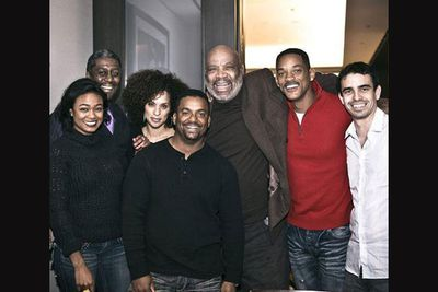 Will Smith posted a Facebook pic of the gang together at a charity event in December 2011, held by Karyn Parsons (Hilary).<br/><br/>Left to right: Tatyana Ali (Ashley), Karyn Parsons (Hilary), Alfonso Ribeiro (Carlton), James Avery (Philip) and Will Smith (Will) with other friends.<br/><br/>Image: Facebook/Will Smith